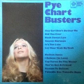 pye chart busters cover album